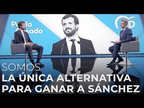 Somos la única alternativa para ganar a Sánchez