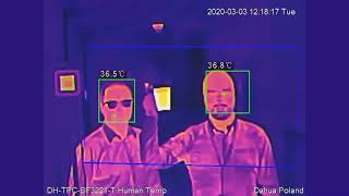 Dahua Thermal Cameras – Body Temperature Measurement Solution
