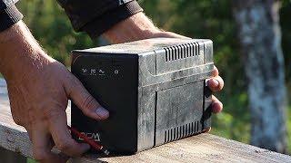 Замена батареи ИБП - UPS ремонт своими руками!