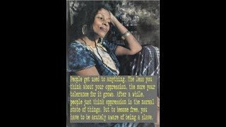 Assata Shakur in Her Own Words - (Rare Recording)