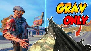CoD BLACKOUT   ZOMBiE WEAPON ONLY CHALLENGE!!! (15 KiLL DUB)