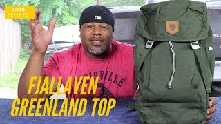 Fjallraven Greenland Top  Just For Girls? or An Awesome Waxed Canvas EDC Pack For Everyone?