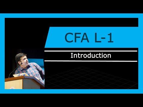 CFA Level -1 | Introduction | 2018 - YouTube