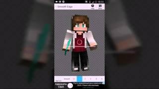 Как сделать 3D арт своего скина на Android