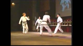 Sheraton Hotel München Taekwon Do September 1990 mit Kwon Jae Hwa
