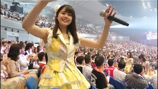180801横浜アリーナAKB48グループ感謝祭~ランクインコンサート~STU48瀧野由美子席