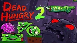 Мультик игра Голодные Мертвецы 2#логическая игра для детей#игры зомби
