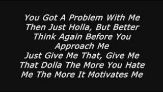 Chamillionaire - Sittin back (Lyrics)