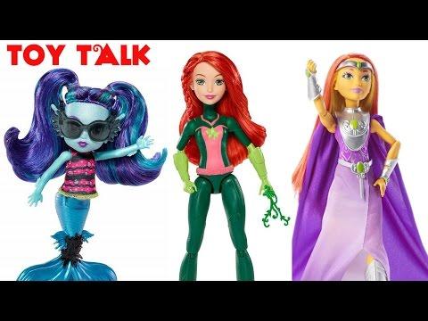 DC SUPER HERO GIRLS INTERGALACTIC GALA STARFIRE, MISSION GEAR POISON IVY DOLLS | TOY TALK