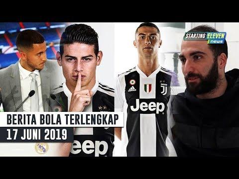 Ronaldo Minta James Gabung 😱 Alasan Hazard Ke Madrid 🔥 Higuain Tetap Ingin di Juve (Berita Bola)