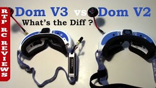 RC Reviews Fat Shark Dominator V3 vs Dominator V2  What's the difference?