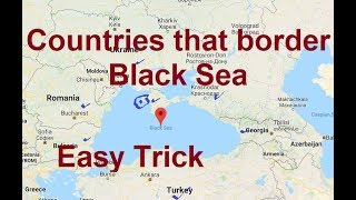 Trick To Remember Countries that border Black Sea