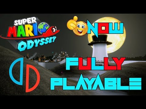 HUGE Graphics update , Testing Super Mario Odyssey on YUZU