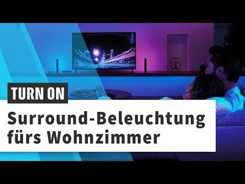Philips Hue Play Sync Box im Hands-On: Wenn der TV die Beleuchtung steuert
