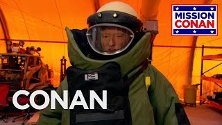 Conan Joins The Explosive Ordnance Disposal Division - CONAN on TBS - Video Youtube