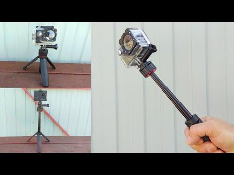 Магнитный выдвижной штатив для экшн камеры / Magnetic Extendable Tripod for Action Camera