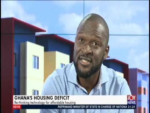 Ghana's Housing Deficit - PM Express on JoyNews (18-9-19)