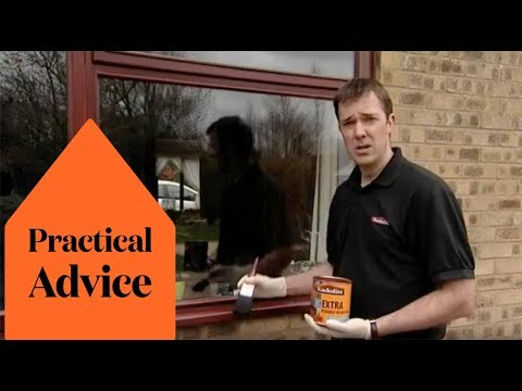 Video How to treat and care for exterior wood