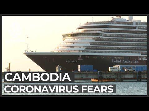 Cambodia tests cruise ship passengers for coronavirus