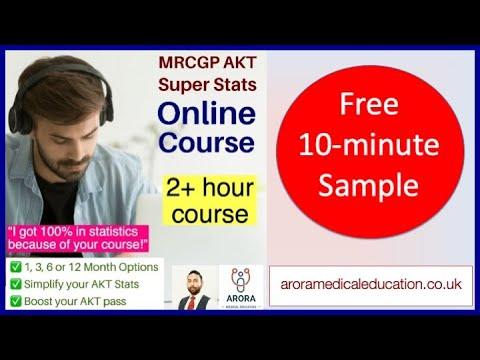 AKT Super Stats Online Course - 10 minute sample