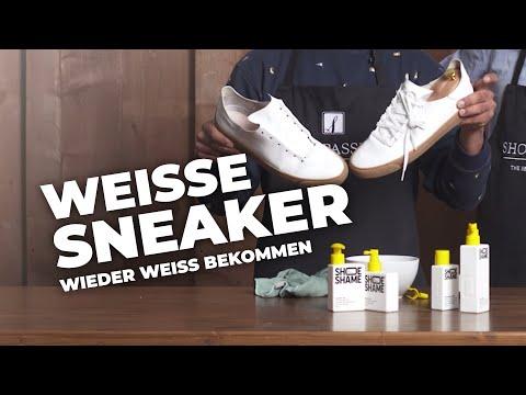 Pflegetipps: Sneaker wieder weiß bekommen