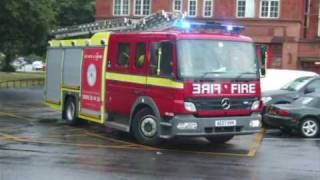 preview picture of video 'London Fire Brigade - H361 Mitcham'