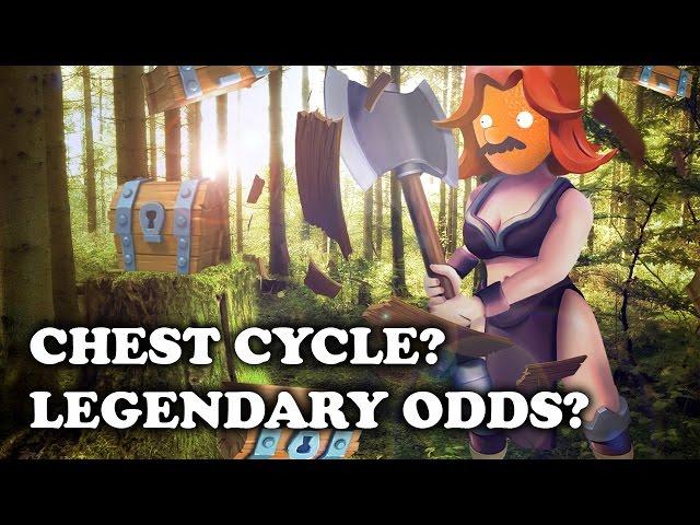 Clash Royale Legendary Chest Pattern worst luck ever legendary chest ...