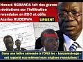 URGENT: Honoré Ngbanda fait des graves révélations sur l'infiltration rw...