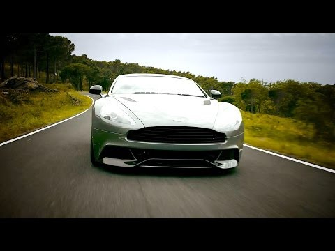 Aston Martin Vanquish driving and sound - Autogefühl Autoblog