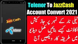 So erstellen Sie Jazzcash-Konto auf Telenor