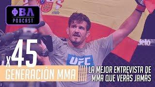 Generación MMA x45 | Entrevista a Juan Espino