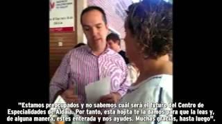 preview picture of video 'Guillermo Luján|El PP abandona el Centro de Especialidades de Aldaia'