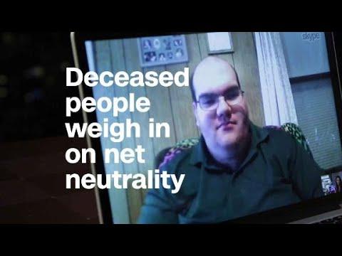 Stolen identities, deceased weigh in on net neutrality