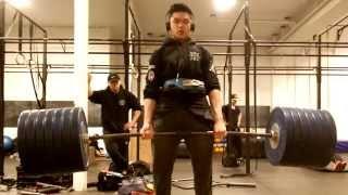 300kg/661lbs for 2 DEADLIFT singles @ 81kg/178lbs