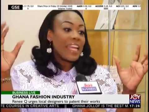 Ghana Fashion Industry - Business Live on JoyNews (19-10-18)