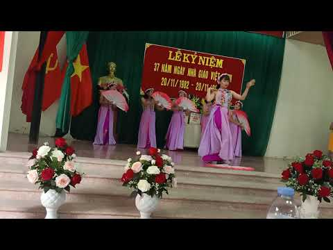 Văn nghệ chào mừng ngày Nhà giáo Việt nam 20/11/2019 - Biểu diễn : Tốp Múa : trường Mầm non Xuân Hương