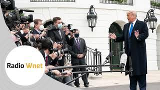 Becker: 92% przekazów medialnych w USA nt. Trumpa jest negatywna. Trump walczy z pedofilią w Ameryce