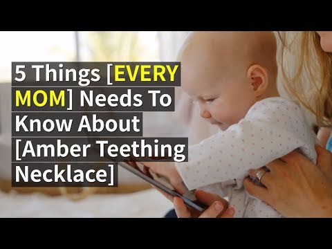 👶Amber Teething Necklace for Babies REVIEW ✅