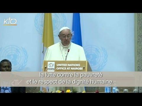 L'avertissement du Pape François à l'approche de la COP21