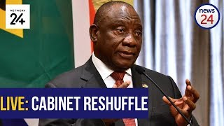 """President Cyril Ramaphosa is expected to announce changes to the National Executive at the Union Buildings, Pretoria, at 15:00 on Thursday.  In a statement issued on Thursday morning the Presidency said: """"these changes have been occasioned by the passing away in September 2018 of the Minister of Environmental Affairs, Ms Edna Molewa, and the more recent resignation of the Minister of Home Affairs, Mr Malusi Gigaba""""."""