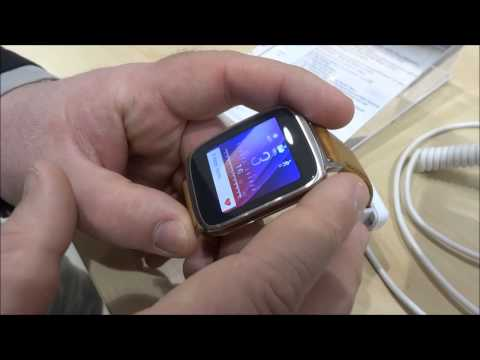 Asus Zenwatch, video anteprima dal MWC 2015