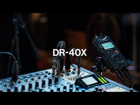 Tascam DR-40X (Handheld)