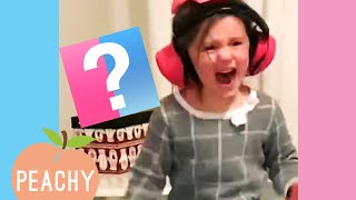 Most Outrageous Baby Gender Reveal Reactions 😲