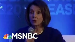 President Donald Trump Allies Spread Distorted Videos Of Pelosi   The Beat With Ari Melber   MSNBC