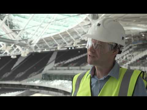 Covering the Olympic Stadium