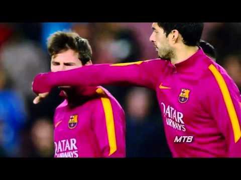 Messi Suarez y Neymar El Mejor Tridente De La Historia