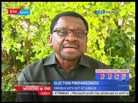 Senator James Orengo reacts to Interior CS Matiang'i's declaration for adopt-a-polling station