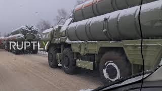 Rosja: Pojazd wojskowy uczestniczył w masowym zderzeniu tylnym pod Moskwą