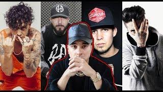 Top 5 RAPEROS Que LE TIRARON A MC DAVO | ALEMAN | DHARIUS Y MAS