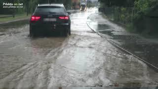 Poplavljene ceste v Ljutomeru